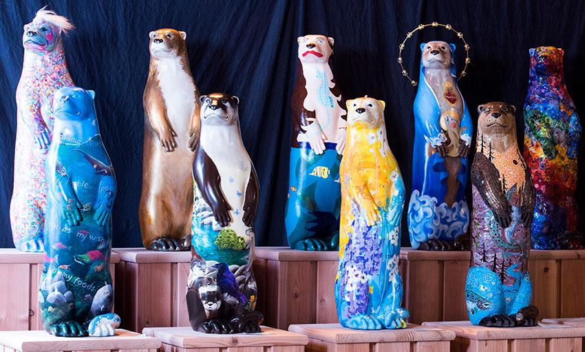 Otter art photo