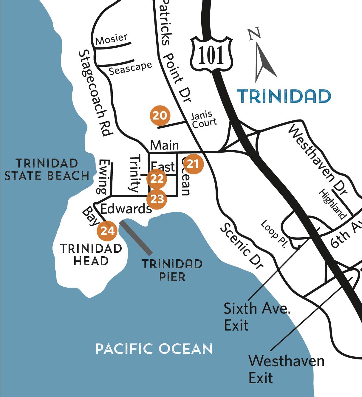 map locations in trinidad